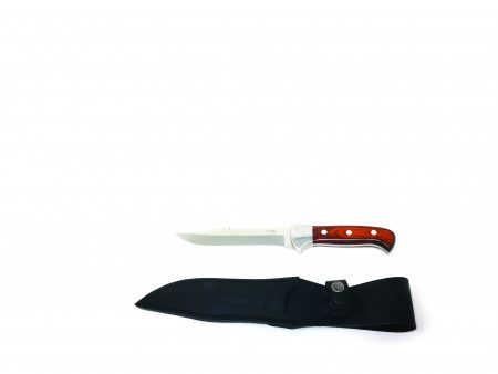 COLTELLO DA CACCIA FOREST COLLECTION CON MANICO IN LEGNO